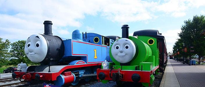 Strasburg Rail Road - Thomas & Percy