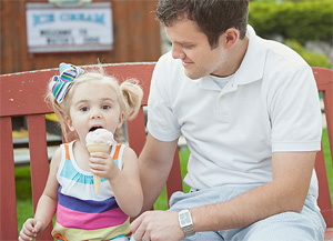 Hand-Dipped Ice Cream from Waters Edge Mini Golf