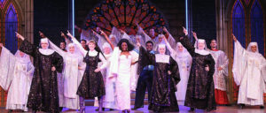 Sister Act on stage at Dutch Apple Dinner Theatre