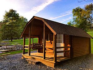Hershey KOA Log Cabin