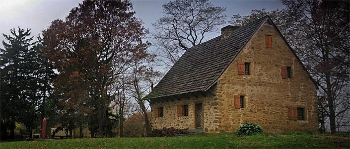 1719 Hans Herr House Museum - Lancaster, PA