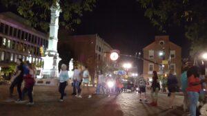 Penn Square in Lancaster City