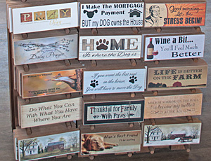 Country Woodshop - Plaques