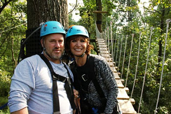 Outdoor Activity for Couples in Lancaster County, PA - Ziplining