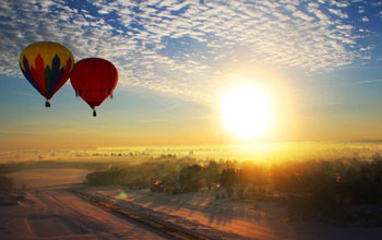 Romantic Thing to Do in Lancaster County, PA - Hot Air Balloon Ride