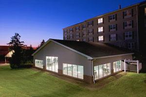 country-inn-suites-pool-night