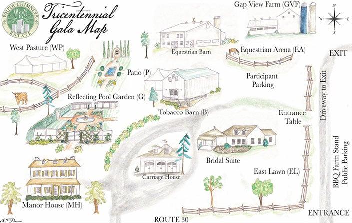 White Chimneys Estate - Gap, PA