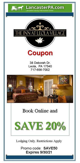 Inn at Leola Village - Lancaster, PA