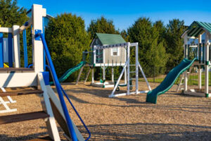 The Lancaster Playground - King Swingsets