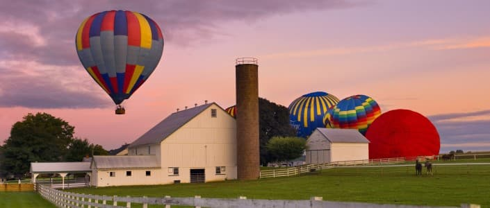 Things to do in Lancaster, PA for Young Adults - US Hot Air Balloon Team