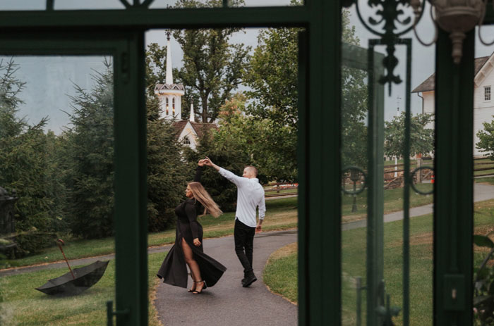 Fern and Fountain Wedding Photography - Lancaster, PA